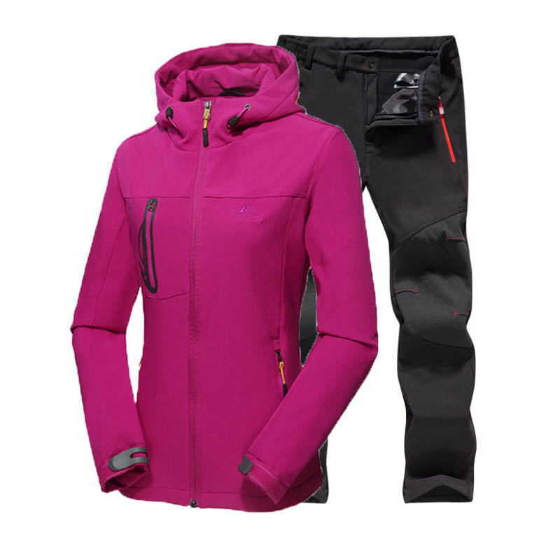 Women Winter softshell camping hiking trekking climbing Pants Outdoor jacket Sport Coat Waterproof 5XL Skiing Plus size Trousers high quality winter men warm softshell pants skiing snowboard outdoor sport hiking trousers grey camping climbing breath snow