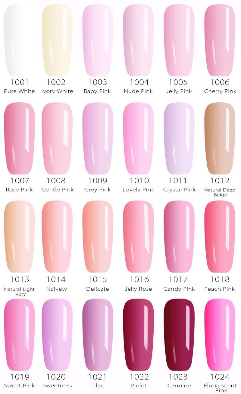 61508 Nail Factory Supply New Nail Art Design 60 Color Soak Off Uv Gel Paint Lacquer Polish Uv Varnish Gel