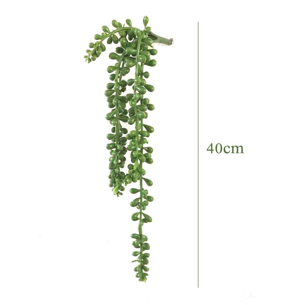 Artificial Fake Hanging Flower Vine Plant Wedding Indoor Outdoor Garden Decor 0