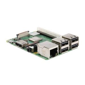 Image 5 - Raspberry original pi 3 modelo b +, (plus) broadcom processador 1.4ghz embutido, processador quad core 64 bits, wifi, bluetooth e porta usb