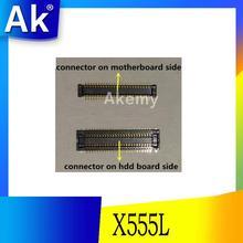 Оригинальный интерфейс для ASUS X555LD A555L X555LJ X555LB X555LP X555LN X556U интерфейс на HDD и на материнской плате
