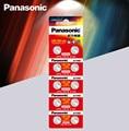 10 шт., батарейки Panasonic 1,5 в AG10 LR1130 Щелочная батарейка-кнопка, батарейки AG10 389 LR54 SR54 SR1130W 189 LR1130
