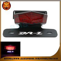 מסודר פנדר Eliminator רישום אופנוע זנב מחזיק לוחית רישוי אור LED עבור סוזוקי drz400 DRZ 400 S 400SM DR-Z 400 אדום