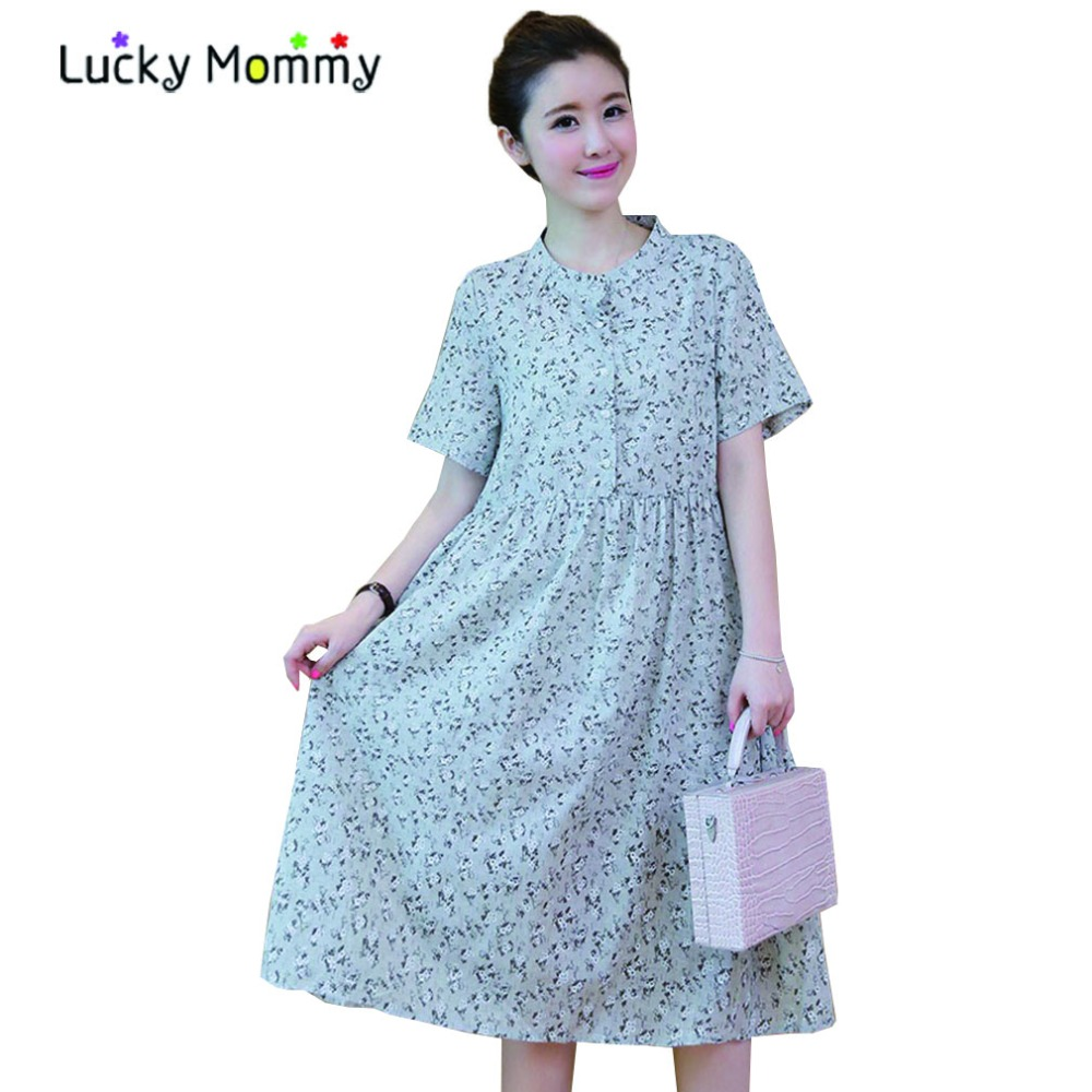 Online get cheap beautiful maternity dresses aliexpress beautiful linen cotton floral maternity dresses loose casual maternity dress summer pregnancy clothes clothing maternity ombrellifo Image collections