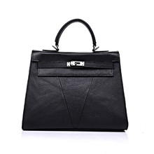 Designer Quality Genuine Cowhide Leather Handbag High end font b Women s b font font b