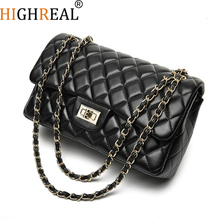 HIGHREAL Summer Rand Luxury Handbags Women Messenger Bags Female Crossbody Bags For Women Chain Shoulder Bag Diamond