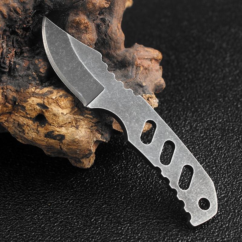 Kkwolf мини карман Охотничьи ножи Karambit Шеи Брелок Ножи K оболочка Тактический выживания Ножи для шашлыков Открытый Отдых multi EDC Инструменты