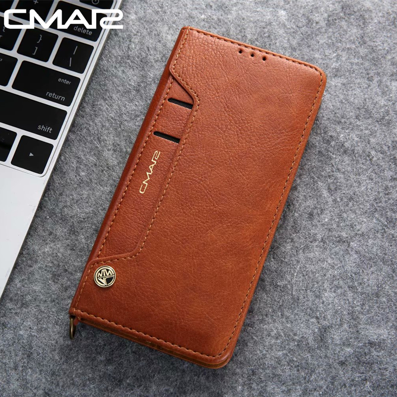 S10 Leather Case for Samsung Galaxy S10 Plus PU Leather Case for Samsung Galaxy S10e Flip Wallet Stand Full Leather Case Cover