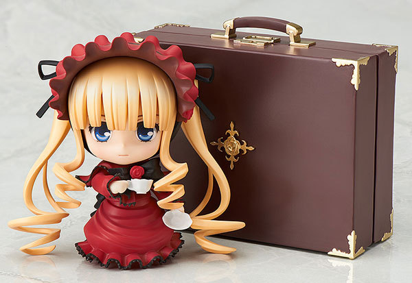 Huong Huong Anime Figure 10CM Rozen Maiden Nendoroid Shinku 364 PVC Action Figure Collectible Model Cartoon Toy Gift arale figure anime cartoon dr slump pvc action figure collectible model toy children kids gift 6 types