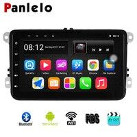 Panlelo S8 forVW android авторадио gps навигации 8 дюймов Стерео Радио мультимедийный плеер для поло гольф 4 Passat B6 B5 B7 2din