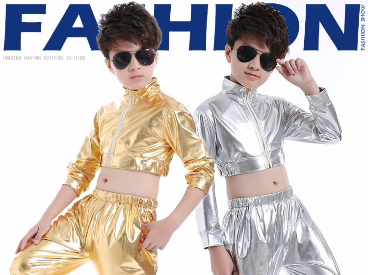 cc4c3e46b 2019 2018 New Fashion Dance Wear Kids Boys Suit Stage Costume For ...