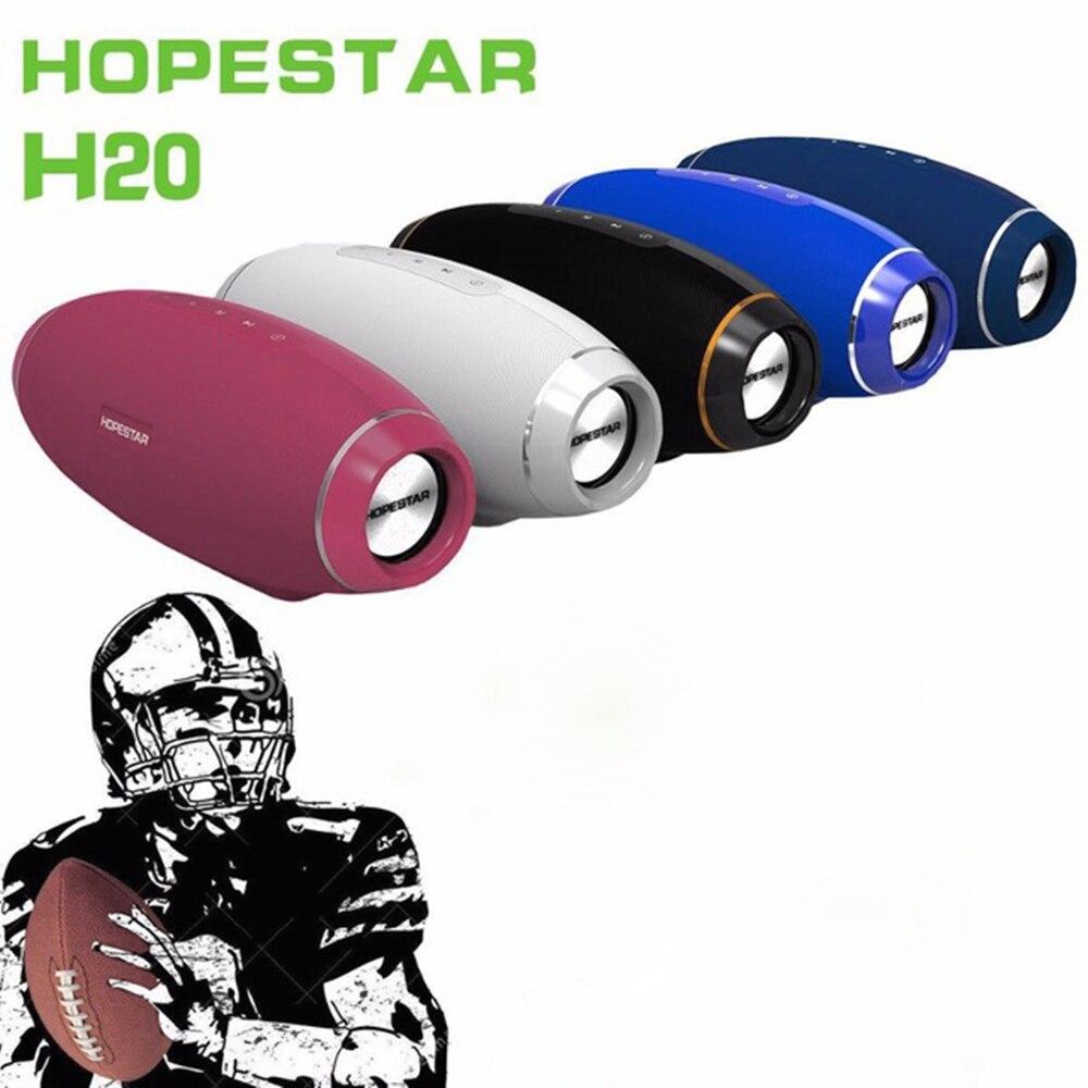 HOPESTAR Bluetooth динамик супер бас беспроводной динамик сабвуфер динамик s Высококачественный для регби Форма для телефона планшет компьютер