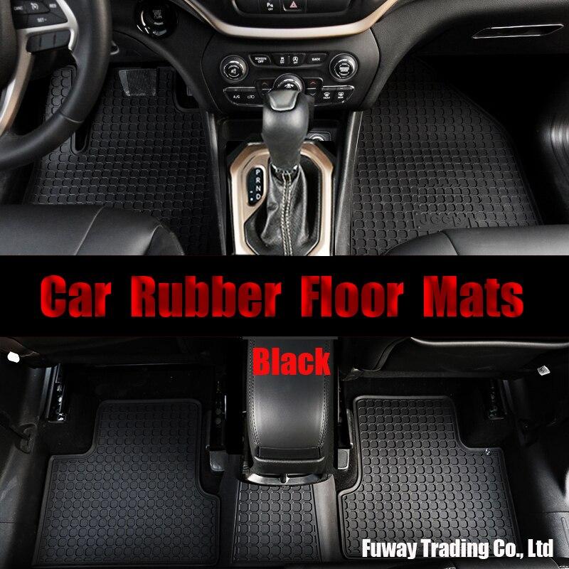 Anti-dérapant haute qualité personnalisé en caoutchouc voiture tapis de sol imperméable à l'eau en caoutchouc tapis de sol tapis pour BMW 3 série F25