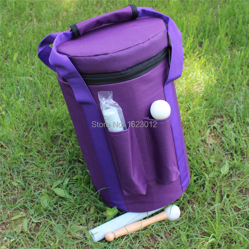 Purple Color Carry bag for 7- 8 hand held crystal singing bowls with Heavy Duty  Canvas Carrier japanese pouch small hand carry green canvas heat preservation lunch box bag for men and women shopping mama bag