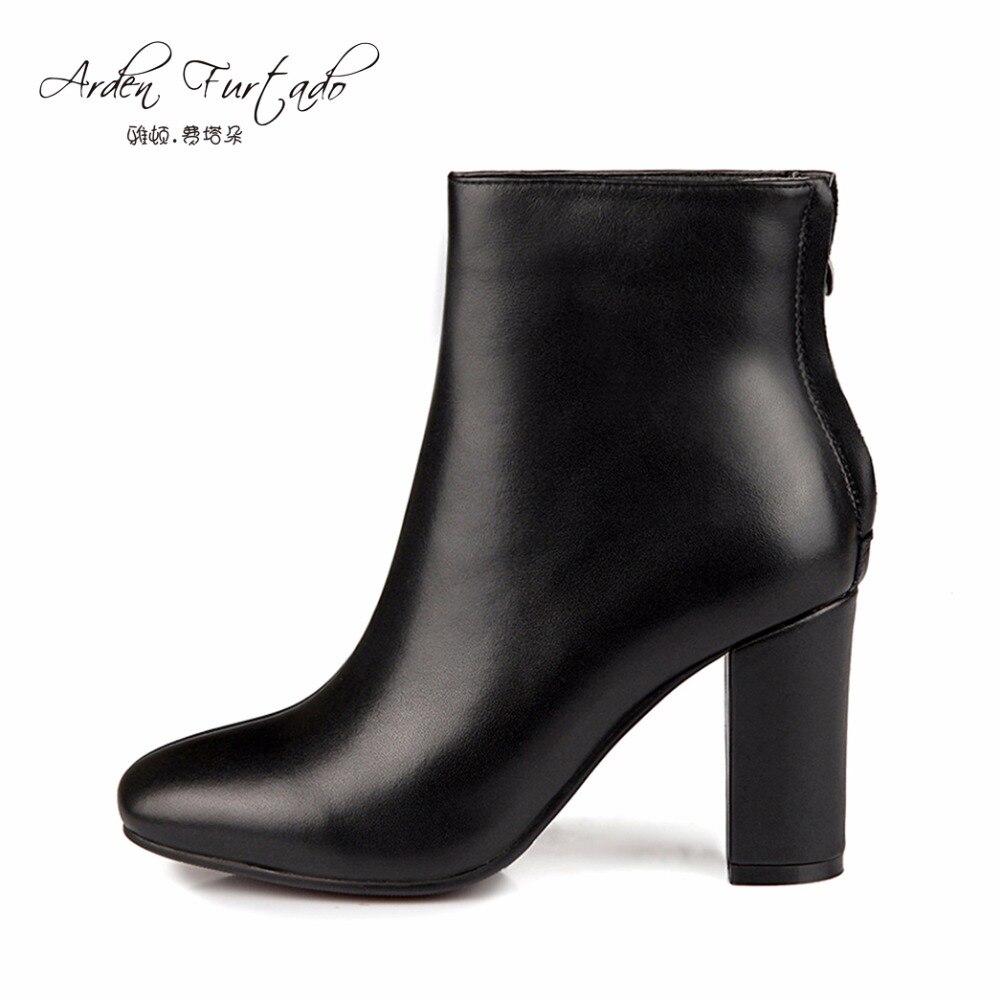 en cuir haut talon chaussure promotion-achetez des en cuir haut