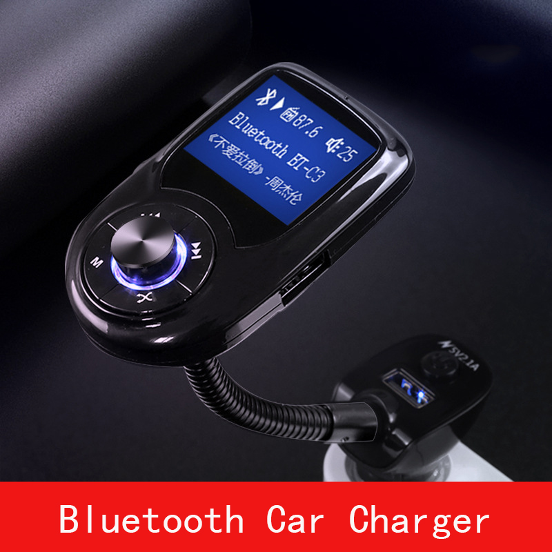 Thbelieve Bluetooth voiture Charge LCD écran affichage 2 USB chargeur Auto Support lecteur MP3 rapide chargeur de voiture USB livraison directe