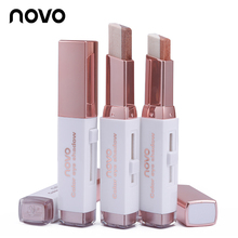 NOVO Eyeshadow Stick Double Color Stereo Gradient Velvet Shimmer Earth Color Eye Shadow Cream Pen Eye Makeup Palette Cosmetics
