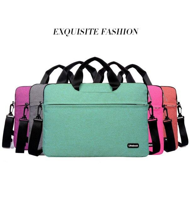 b5e23a9b22fc New Arraival 11 12 13 14 15.6 inch Laptop Bag Notebook Shoulder Messenger  Bag Men Women