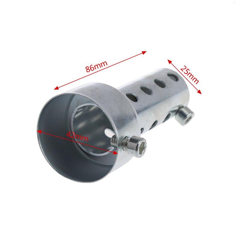Lifet 60/mm motocicleta Silenciador de escape DB Killer Silenciador Noise Sonido Eliminator