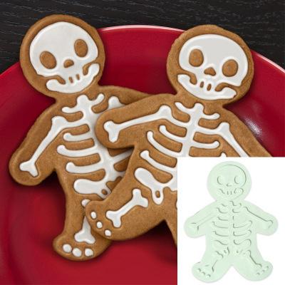Halloween Gingerbread Man Cookie Cutter and Press