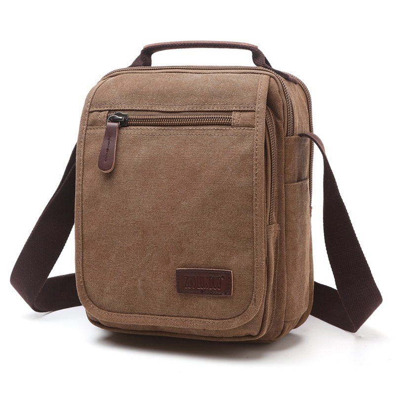 M077 Hot! Brand High Quality Men Canvas Bag Casual Travel Bolsa Masculina Men's Crossbody Bag Men Messenger Bags Multifunction цена