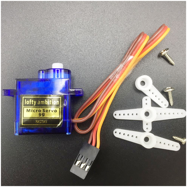 1pcs RC Micro Servo 9g SG90 Servo For Arduino Aeromodelismo Align Trex 450 Airplane Helicopters Accessories