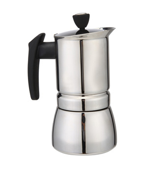 Stainless Steel Espresso Cups | AMYAMY Stainless Steel Moka Stovetop Espresso Coffee Maker Latte Percolator Stove Espresso Maker Pot  New 300 ML 6 Cup