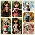 17 parágrafo boneca elf para monster high school girl dress/vestido/terno/saia do bebê Frete grátis roupas e acessórios