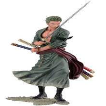 One Piece Pop After 2 Years Roronoa Zoro 1/9 Scale Painted PVC Action Figure Toys 20cm 2 Style Collection Dolls Gifts Free Ship