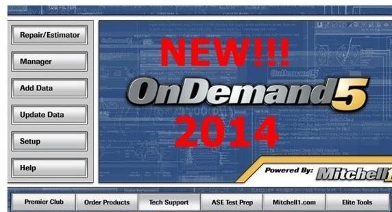 Ccsme DHL 2014 Alldata 10.53 y Mitchell ondemand 2013 software de la reparación Auto con disco duro externo para cualquier ordenador