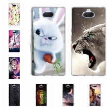 For Sony Xperia 10 Plus Case Soft TPU Silicone For Sony Xperia 10 Plus Cover Cute Animal Patterned For Sony Xperia 10 Plus Coque