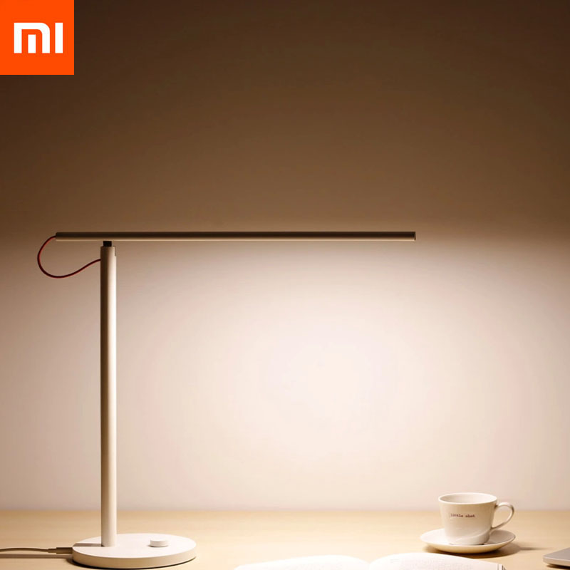 Xiaomi Mijia LED Lampe de Bureau Tableau Intelligent Lampes Desklight Soutien Smart Phone App Contrôle 4 Modes D'éclairage Avec KC CEI BSM pour Enfants