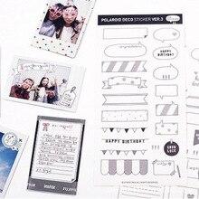 Шесть листов бумажных наклеек с календарем, наклеек и DIY clipbook polarized. Альбом 'с традиционными игрушками'