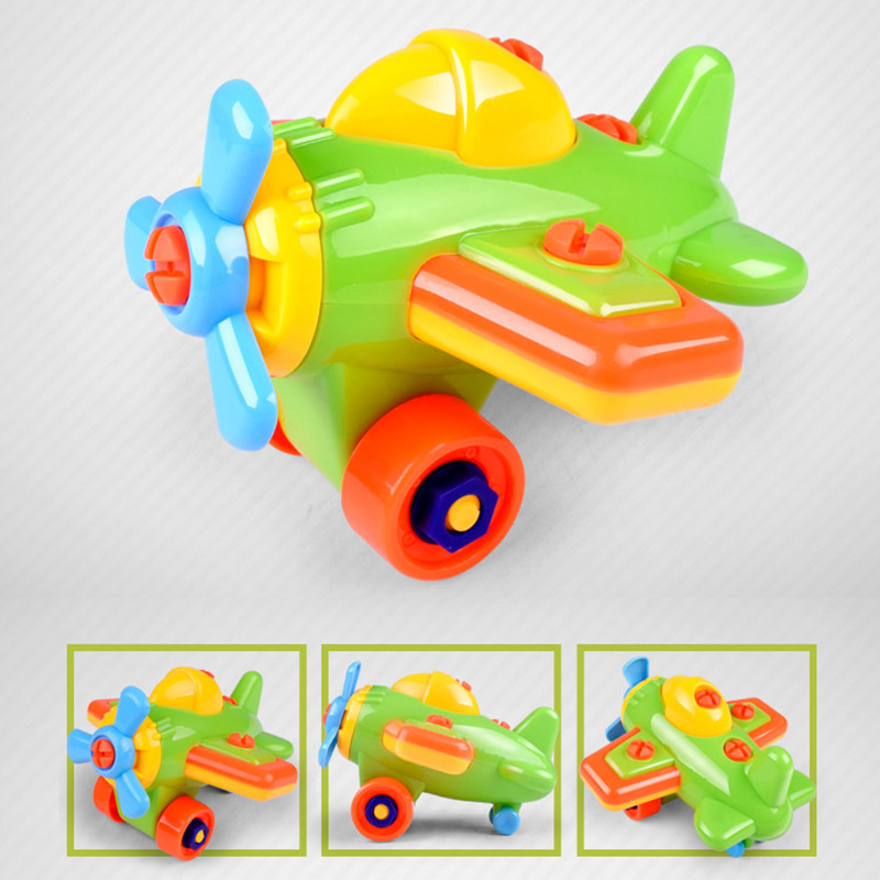 Children-Train-Car-Toy-DIY-Disassembling-Plane-Car-Building-Blocks-Model-Tool-with-Screwdriver-Assembled-Educational-Toys-YH-17-3