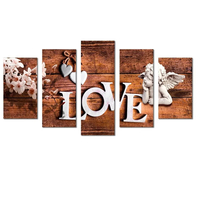 DIY 5D Diamond Painting love angels Multi picture Combination Full Square Diamond Mosaic diamond Pictures for Living Room decor