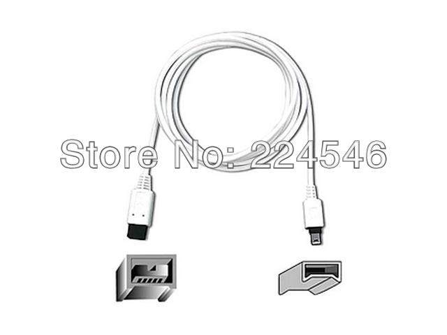 Genuine F3N403-06-APL IEEE 1394 cable - 9 pin FireWire 800/4 pin FireWire 400 6 ft ( IEEE 1394 ) 9pin to 4pin