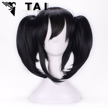 Harajuku Anime Nicole Cosplay Wigs Young Short Straight Synthetic Hair Braid WigsBOB Style Sexy Product Wigs Perruque Hairpiece