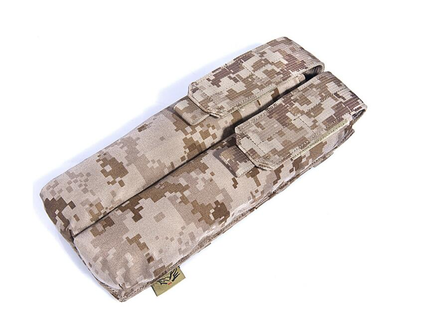 FLYYE MOLLE Double P90/UMP Magazine Pouch Military camping hiking modular combat CORDURA PH M022