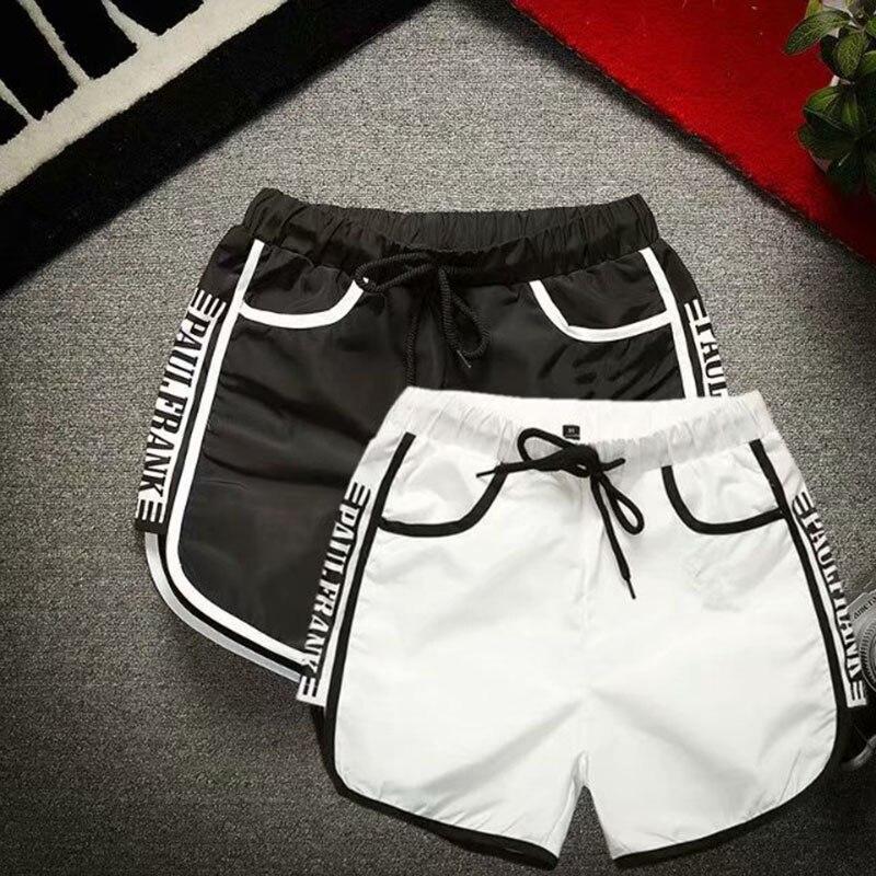 c60f650da European and American Style Satin Smooth Sports Shorts Female High Waist  Fitness Running Shorts Women Slim