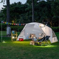 Naturehike большой открытый тент для кемпинга, семейный пляжный тент для пикника, большой солнечный тент 5-8 человек, портативный тент с навесом
