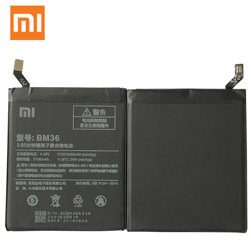 Image 5 - BM36 BM22 BM35 BM45 BM46 Battery For Xiaomi Mi4C Mi5S Mi 5 4C 5S Mi5 Redmi Note 2 3 Pro Replacement Battery Batterie Free Tools-in Mobile Phone Batteries from Cellphones & Telecommunications