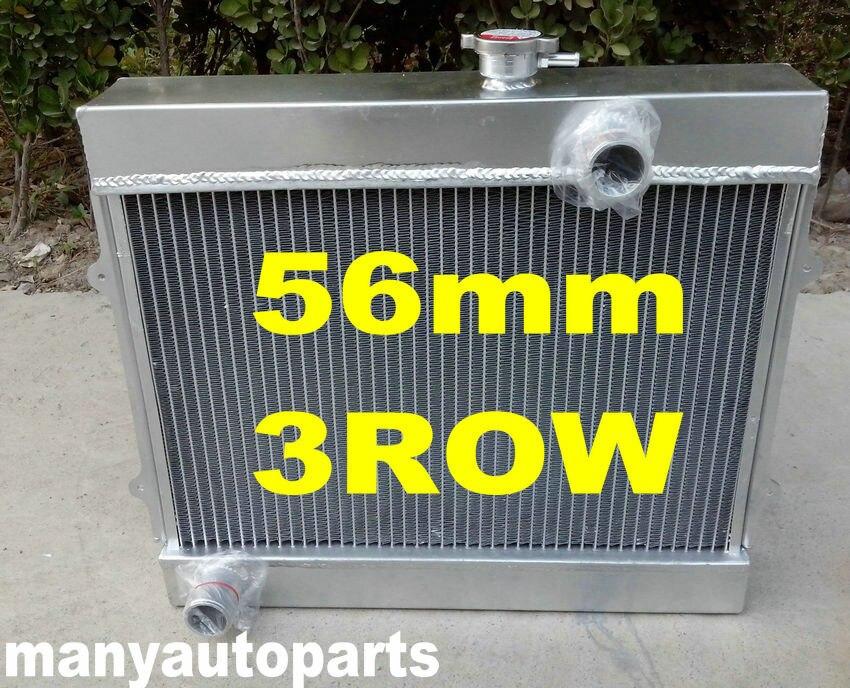52mm ALUMINUM RADIATOR FOR 1983-1987 1984 1985 86 TOYOTA COROLLA AE86 1.6L I4 MT