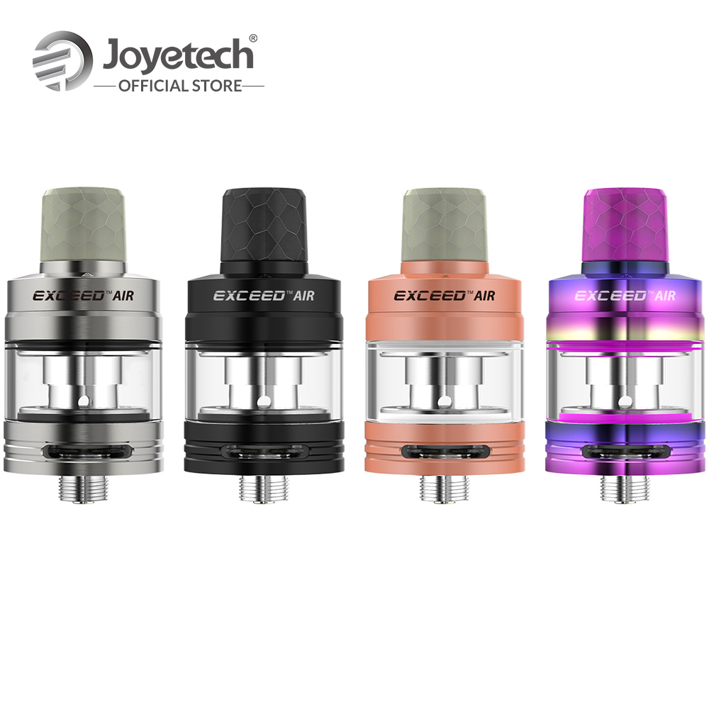Original Joyetech EXCEED Air Atomizer With 2ml Eliquid Capacity in EX Head 0.5ohm DL./1.2ohm MTL.Coil Electronic Cigarette