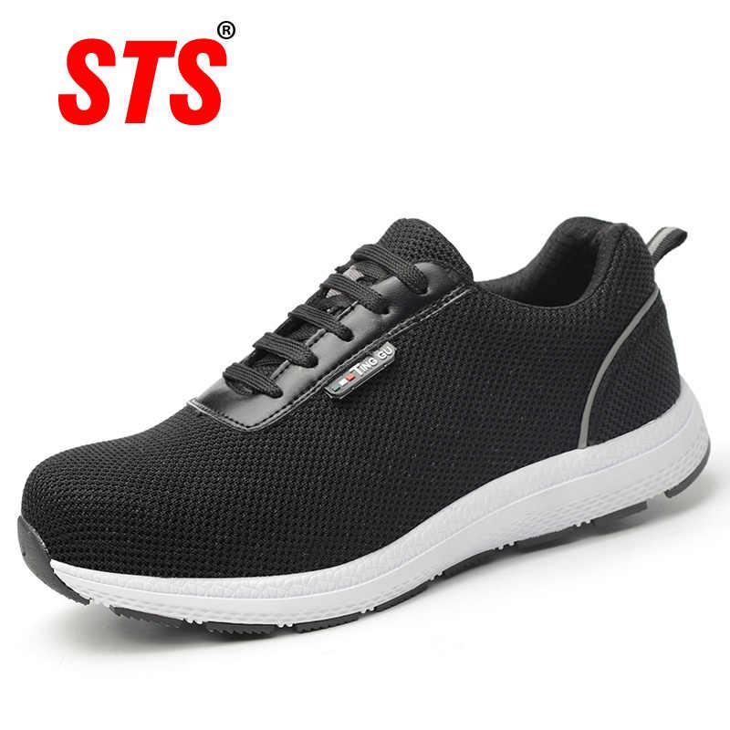 2019 New Steel Toe Work Shoes Women