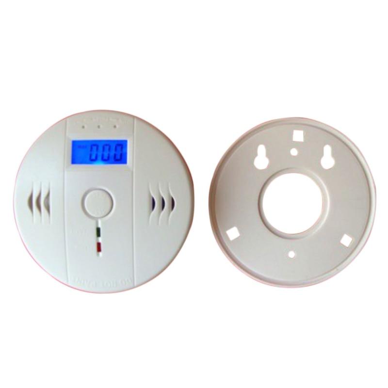 High Sensitive LCD CO Sensor Work alone Built-in 85dB siren sound Independent Carbon Monoxide Poisoning Warning Alarm Detector