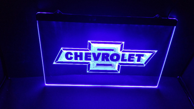 Tr18 CHEVROLET Car Beer Bar Pub Club 3d Signs LED Neon Light Sign Home  Decor Crafts