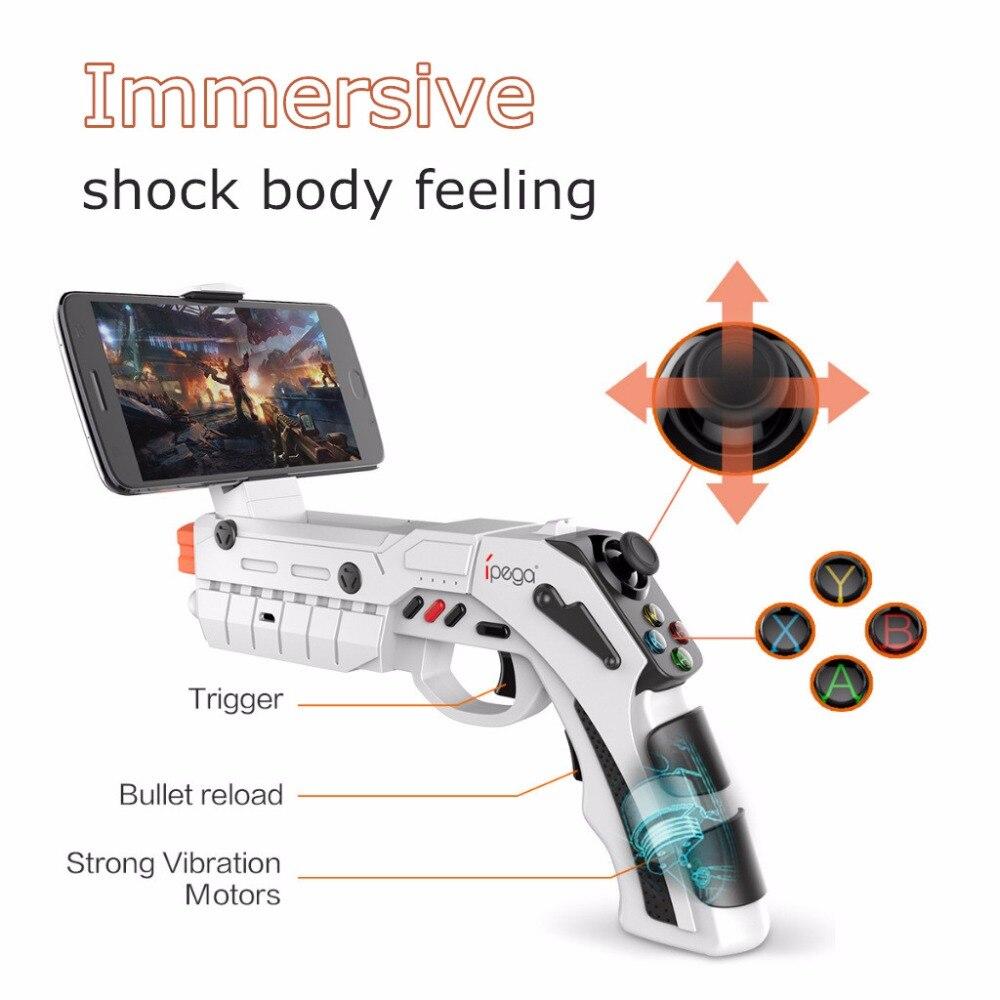 Bluetooth poignées pistolet smart AR Guns VR Gamepad jouet fusil en plein air fun sport airsoft armes à air comprimé airsoft pistolet pistolet jouet