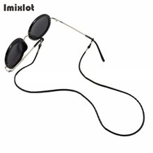 Imixlot 1 PC Glasses String Black Leather Cord Eyeglass Holder Sunglass Eyewear