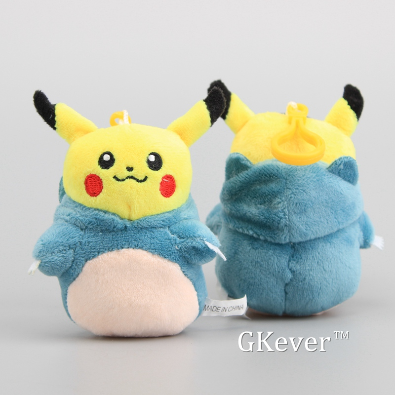Schlüsselanhänger Sonstige Pikachu Plüschtier Keychain Schlüsselanhänger 11cm