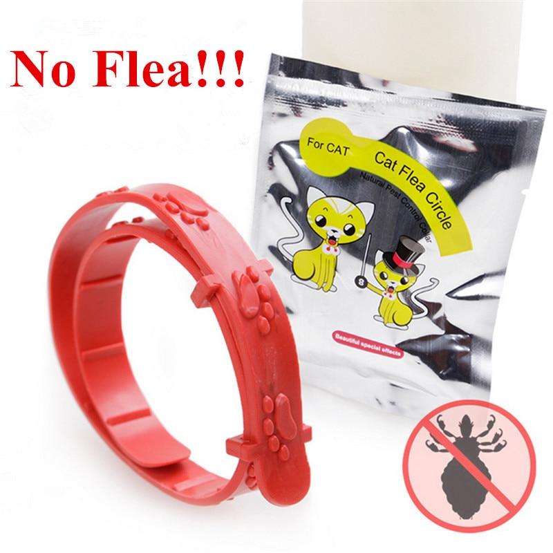 5pcs Hot Sale New Adjustable Pet Collar Cat Protection Neck Ring Flea Tick Mite Louse Remedy